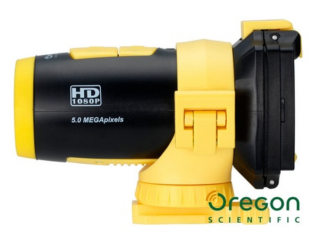 Oregon Scientific ATC9K Full HD Waterproof Action Camera side