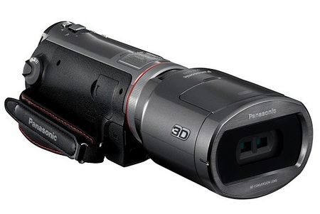 Panasonic HDC-SDT750 3D Consumer Camcorder 1