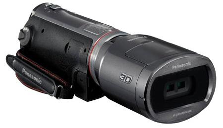 Panasonic HDC-SDT750 Consumer-Grade 3D Camcorder Leaked 1