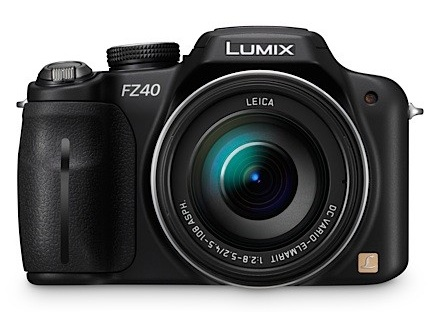 Panasonic LUMIX DMC-FZ40 Digital Camera with 24x Optical Zoom front