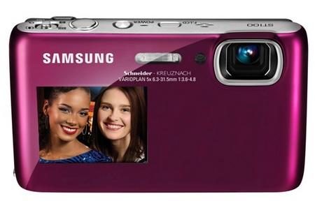 Samsung DualView ST100 digital camera front