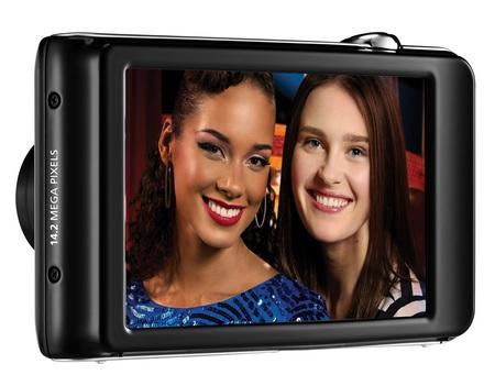 Samsung DualView ST600 Digital Camera back