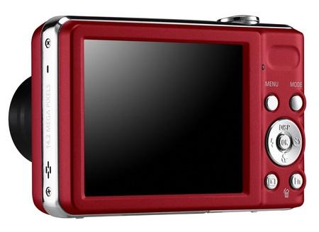 Samsung PL200 7X Zoom Camera back