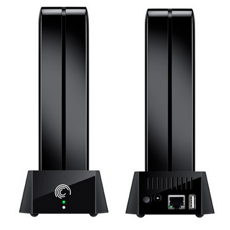 Seagate GoFlex Home Network Storage System front back