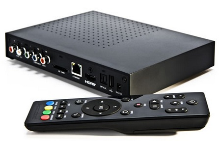 Syabas PopBox Networked HD Media Player back