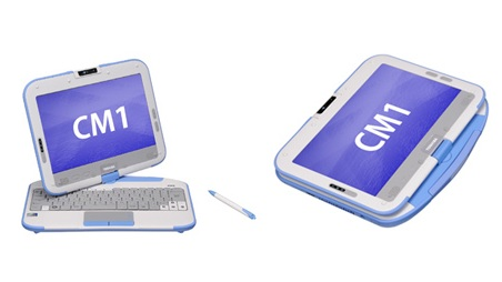 Toshiba CM1 Tablet PC is the Classmate PC for Japan