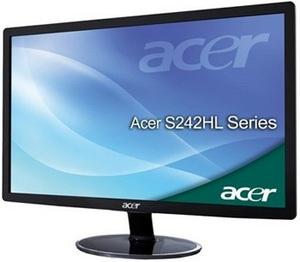 Acer S232HL and S242HL Full HD LED Displays
