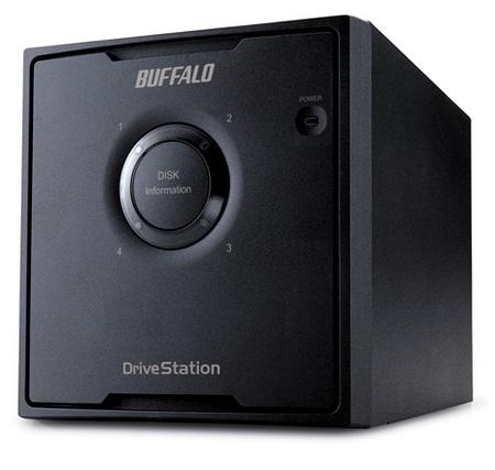 Buffalo DriveStation Quad storage system