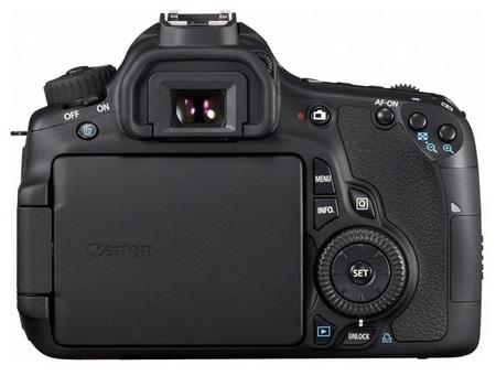 Canon EOS 60D Digital SLR Camera back