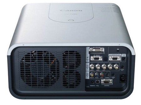 Canon LV-7590 Multimedia Projector with 7000 Lumens back