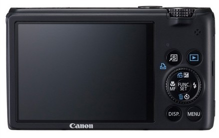 Canon PowerShot S95 Digital Camera with HDR Mode back