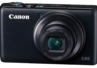 Canon PowerShot S95 Digital Camera with HDR Mode front