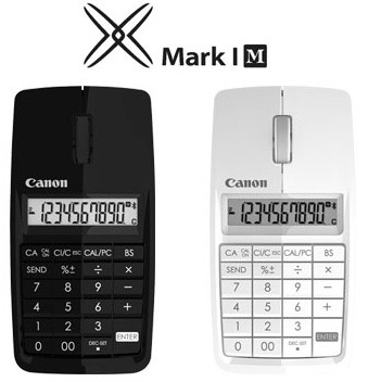 Canon X MARK I MOUSE - Mouse, Calculator, Numeric keypad 3-in-1
