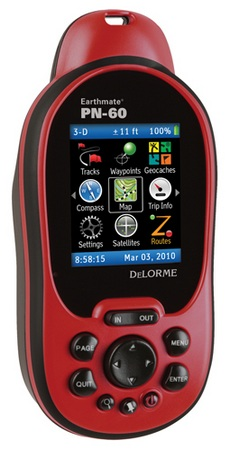 Delorme Earthmate PN-60 GPS Receiver