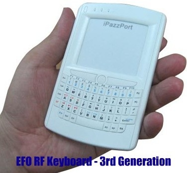 EFO iPazzport Wireless Media Keyboard
