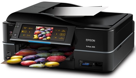 Epson Artisan 835 All-in-one Printer with WiFi