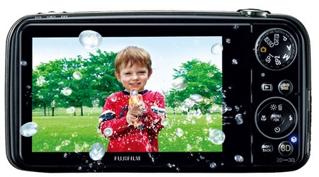 FujiFilm FinePix REAL 3D W3 3D Camera with HD 3D Video Recording back