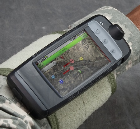 General Dynamics Itronix GB300 Rugged Wearable Computer runs Android