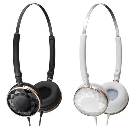 JVC-Victor HA-SP70 URBANE SWEET Headphones black white