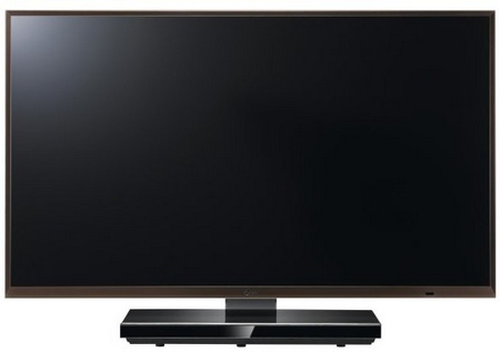 LG LEX8 3D HDTV with NANO Lighting Technology front