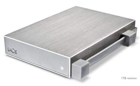 LaCie Rikiki Go Tiny Metal Hard Drive 1TB version