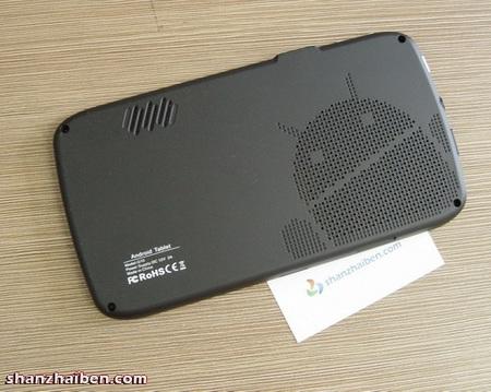 Leader-intl G10 7-inch Android Tablet live shot back