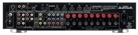 Marantz NR1601 Slimline 7-channel AV Receiver back