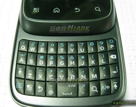 Motorola XT300 Android QWERTY Slider keyboard