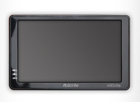 Nationite MIDNite 7-inch Android Tablet front