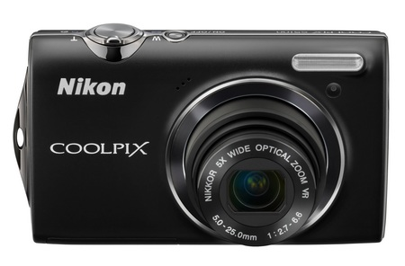 Nikon CoolPix S5100 Point-and-Shoot Camera with 720p Video black
