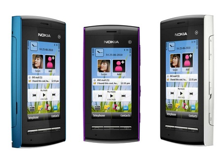 Nokia 5250 Touchscreen Phone colors