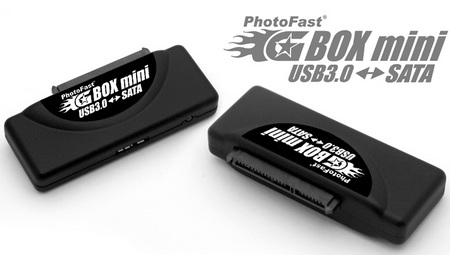 PhotoFast GBOX-Mini USB3.0-SATA HDD SSD Adapter