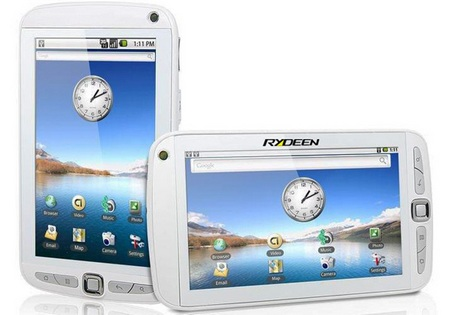 Rydeen Mobile gpad GCOM701 Android Slate white