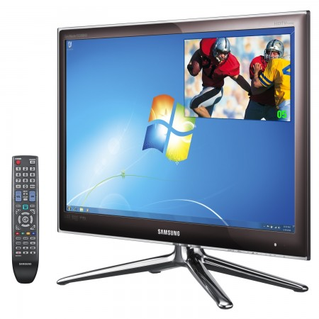 Samsung 30-series and 90-series LCD Monitors with built-in HDTV Tuner