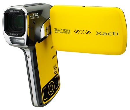 Sanyo Xacti VPC-CA102YL Waterproof Full HD Camcorder