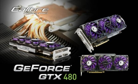 Sparkle Calibre X480 Graphics Card with Accelero Xtreme Cooling