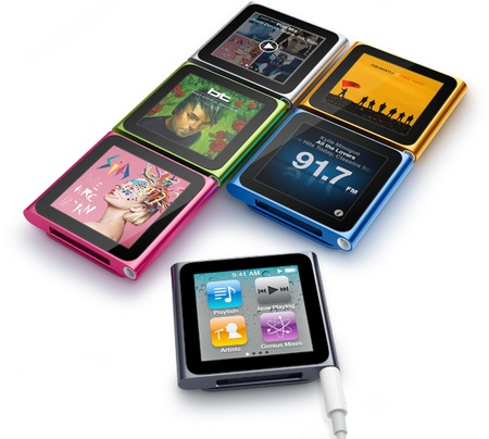 Apple iPod nano 6G gets Touchscreen