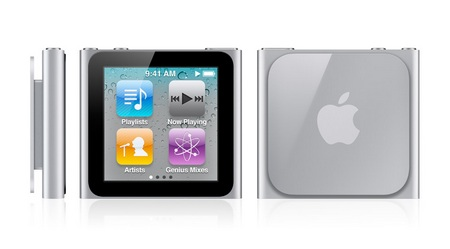 Apple iPod nano 6G gets Touchscreen front back