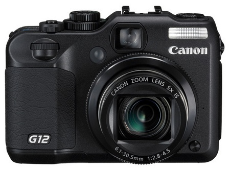 Canon PowerShot G12 with HD Video Recording 1