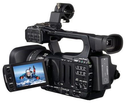 Canon XF105 and XF100 Professional Camcorders 1