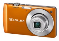 Casio EXILIM Card EX-S200 Digital Camera with Single Frame SR Zoom orange