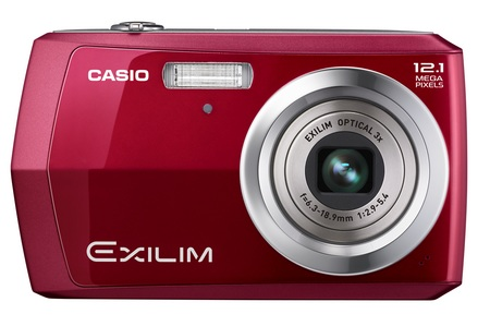 Casio EXILIM EX-Z16 Entry-Level Camera red front