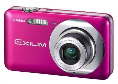 Casio EXILIM ZOOM EX-Z800 Zoom Camera pink