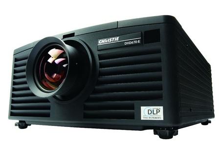 Christie DHD670-E and DWU670-E Digital Projectors 1