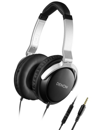 Denon AH-D510R Mobile Elite over ear headphones iphone