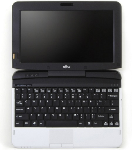 Fujitsu Lifebook T580 Tablet PC with four-finger multi-touch 1