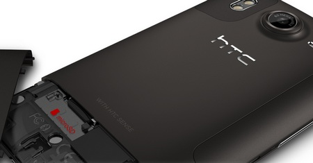 HTC Desire HD 4.3-inch Android Phone back