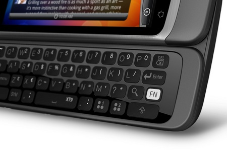 HTC Desire Z QWERTY Android Phone keyboard