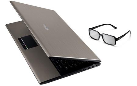 LG A510 Near Full HD 3D Notebook 1