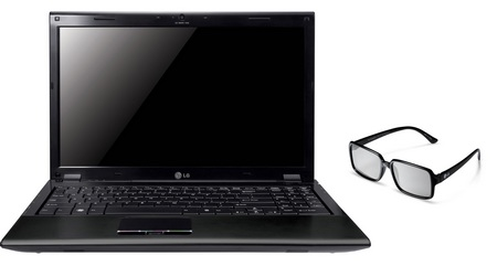 LG A510 Near Full HD 3D Notebook